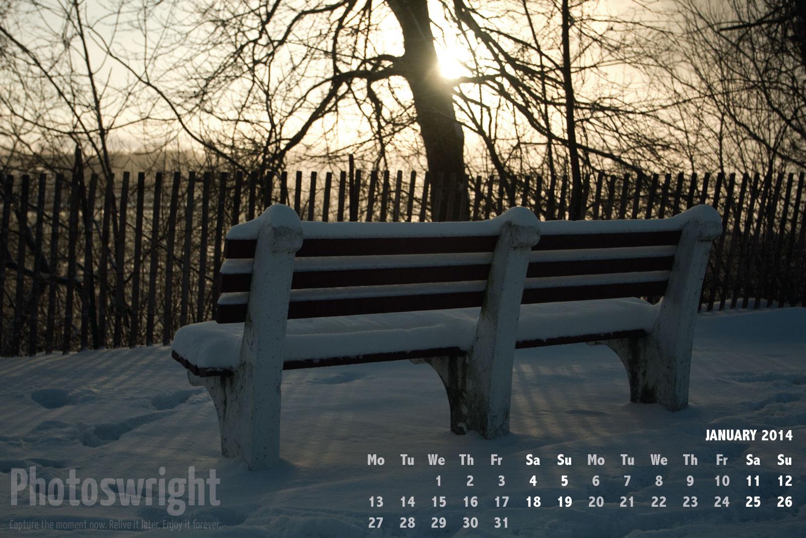 Web calendar: January 2014